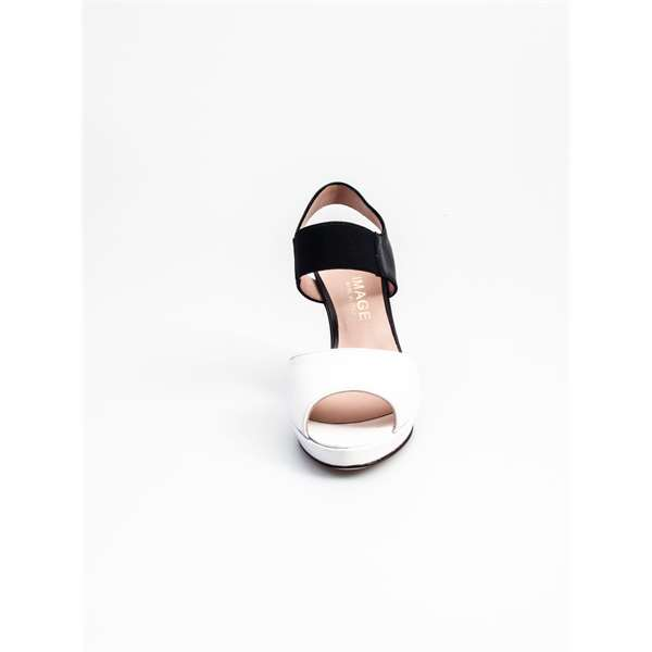 ROSSO REALE With heel Black & white
