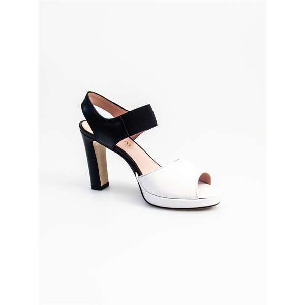 ROSSO REALE 507/DAN Black & white Shoes Women