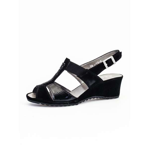 KATRIN  With wedge Black