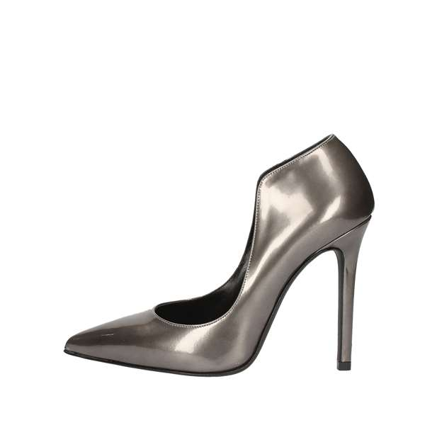 NOA Heeled Shoes  Decolleté 4009 STEEL