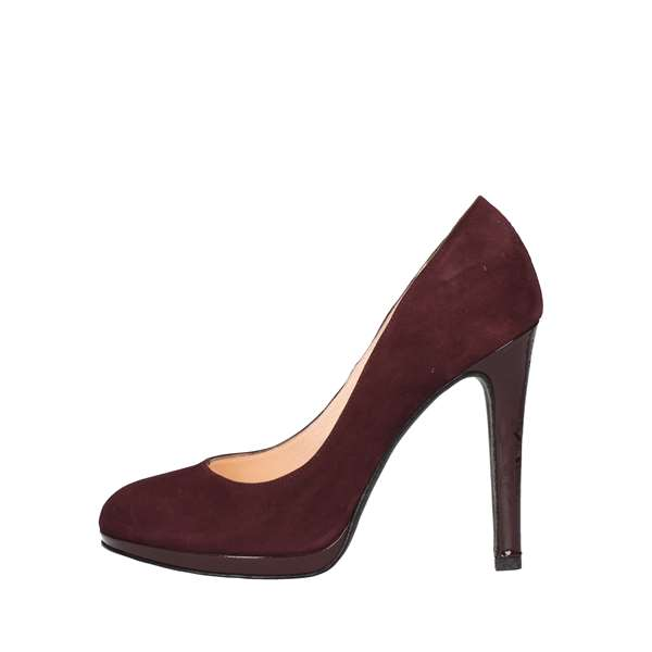 NOA Heeled Shoes  Decolleté 6008 BORDEAUX