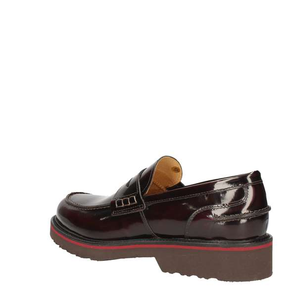 HUDSON Loafers BORDEAUX