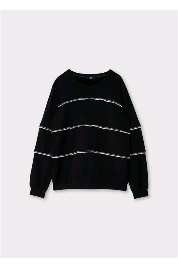 LIU JO SWEAT BLACK