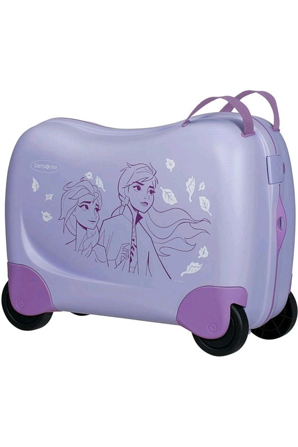 SAMSONITE TROLLEY LILAC